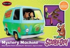 Polar Lights 1/25 Scooby Doo Mystery Machine Snap Kit 901Snap TogetherGlue and paints are required to assemble and complete the model (not included)