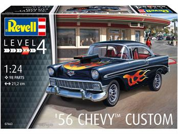 Revell 07663 1/24th scale 1956 Chevy Custom car kit