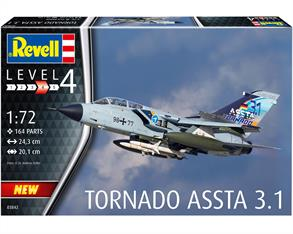 Revell 03842 1/72nd Tornado ASSTA 3.1 Aircraft Kit