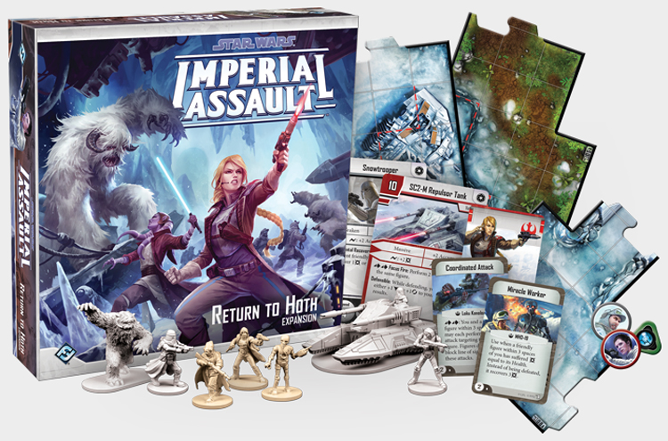Fantasy Flight Games  Return to Hoth Pack for Star Wars Imperial Assault SWI19