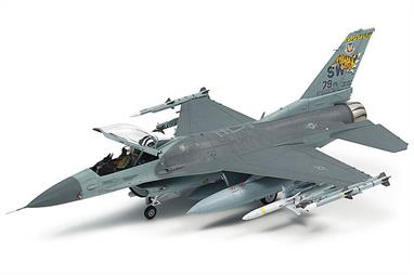 Tamiya 1/72 F-16CJ Block 50 With Full Equipment 60788Limited release of the new tool F16 in 1/72 kit number 60788 by Tamiya featuring full weapons load.Glue and paints are required