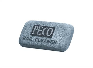 An abrasive rubber block that is absolutely ideal for cleaning dirty or corroded rail surfaces. Great for Scalextric or slot car track too. Helps ensure good electrical contact.