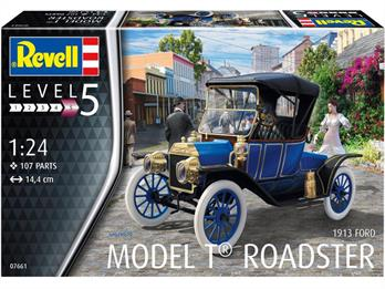 Revell 07661 Ford Model T Roadster 1913 Car Kit