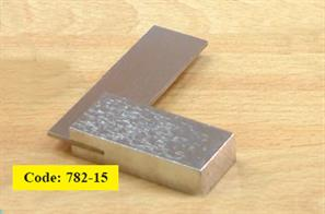 2-inch metal right angle square. Make sure your model�corners are square.