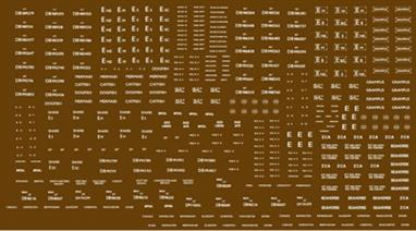 Modelmaster Decals MMBR304 00 Gauge British Railways Lettering Engineering Department Wagons 1948-1965 WhiteB.R 1948 - 1965. Engineering Department wagons, large variety of types. White.