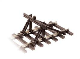 Detailed model of the standard British Railways type. Three plastic moulded parts which, after assembly, clip onto the rails. Peco Streamline Bullhead 0 Gauge track has set unsurpassed standards for 7mm scale realism. Superbly detailed, its 'wood grain' sleepers are the correct scale width and have integrally moulded scale chairs with square headed fixing bolts and wooden keys. This range is compatible with the 0 Setrack range.