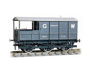 On heavy unfitted coal trains form the Welsh Valleys to London, 6 wheels and 8 tons of extra weight were required to produce sufficient braking force to keep the train under control. Easy to assemble from the correctly coloured injection moulded components. Kits include Transfers. Buffers are sprung and 3-link couplings are included on all models, while the BR wagons also feature working axlebox springs and moveable brake levers. Fine scale metal tyred wheels on pin-point axles supplied, spoked for the GWR wagons. Fully illustrated instructions included.