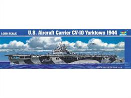 Trumpeter 1/350 USS Aircraft Carrier Yorktown CV-10 1944 WW2 05603Number of Parts 678Length 775Glue and paints are required