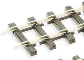 Peco G-45 G Scale Flexitrack Nickel Silver 914mm G-45 SL-900Flexible track with code 250 nickel-silver rail fitted into a robust sleeper base suitable for G gauge garden railways. Sold in yard lengths.
