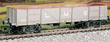 Originally built by the Caledonian Railway, these large capacity bogie open wagons were used for carrying iron ore.This kit has been produced under the Ratio banner for many years and has now been merged into the Parkside wagon its range.