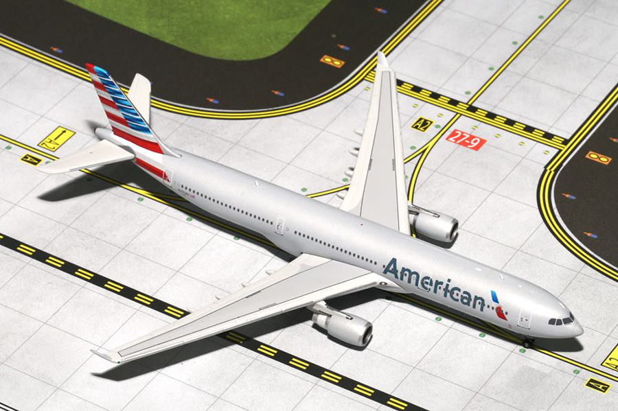 Gemini jets bring you a 1/400th scale model of the American Airbus A330-300 New Colours N270AY Airliner