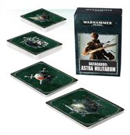 Designed to make it easier to keep track of Tactical Objectives, psychic powers and Stratagems in games of Warhammer 40,000, this set of 89 cards – each featuring artwork on the reverse – is an indispensable tool in the arsenal of any Astra Militarum gamer.