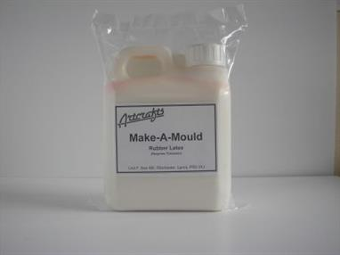 Artcrafts Make A Mould Latex 1 Litre 23052Make your own latex rubber moulds, suitable for plaster and candle moulding.