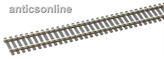 Peco OO 25 yards Streamline Flexitrack Wooden sleeper/Nickel silver rail SL-100BOXPeco Streamline code 100 track with nickel silver rail provides excellent durability and electrical conductivity. SL100 features a flexible moulded sleeper base respresenting the wood sleepers. Use Sl-10 metal and SL-11 insulating rail joiners.A complete box of 25 yards of track. We can also supply Peco track in single yard lengths.Customers outside of the United Kingdom please note that the length of Peco Streamline track exceeds the size limit for delivery.