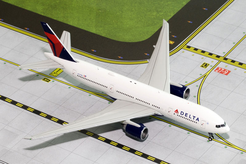 Gemini Jets 1/400 Boeing 777-200LR Delta Airways N707DN Aircraft Model GJDAL1453