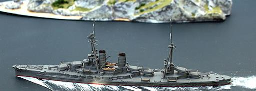 Navis Neptun 201N IJN Ise, a WW1 version of the Japanese Battleship 1/1250