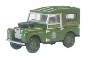 "Oxford Diecast 1/76 Land Rover Series 1 88"" Civil Defence 76LAN188001"