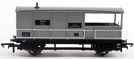 A new model of the GWR standard design goods train brake van modelled from GWR diagram AA15