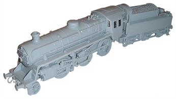 Dapol OO BR 4MT Standard Mogul 2-6-0 Plastic kit C59Moulded in grey plasticGlue and paints are required