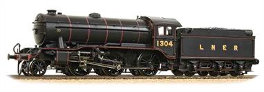 Bachmann Branchline 32-279A OO Gauge LNER 1304 K3 Class 2-6-0 LNER Lined Black LiveryDimensions - Length 250mm.We are taking orders for this model, please select the 'Click and Collect' payment option in the checkout process. We will contact you to advise the sell price and arrange payment when the models are expected to be released.A powerful and smooth running model powered by Bachmanns' proven motor and drive train the K3 is capable of hauling realistic trains with ease. Era 3.DCC Ready, 8 pin decoder required for DCC operation.