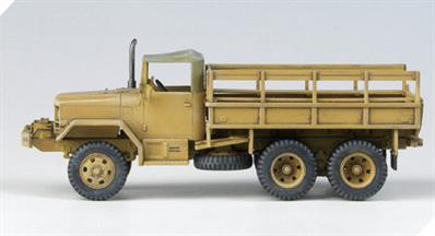 Academy 1/72 US M35 2.5Ton Cargo Truck Kit 13410Glue and paints are required to assemble and complete the model (not included)