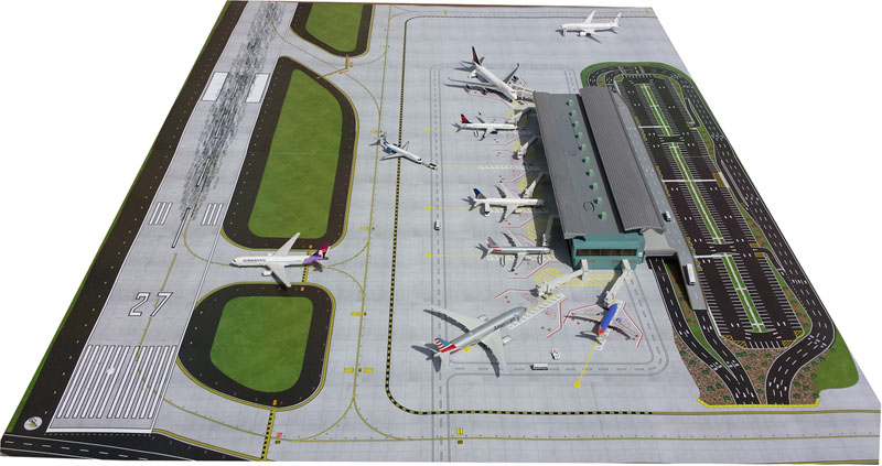Gemini Jets 1/400 Airport Mat Set GJAPS006<br>Airport Mat with no planes, Buildings or Vehicles