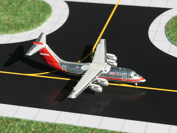 Gemini Jets 1/400 US Airways Bae 146-200 Aircraft Model GJUSA762