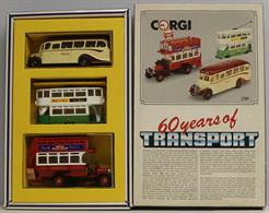 Corgi 60 Years of Transport Set C89