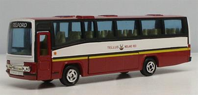 Corgi 1/50 Tellus Midland Red Plaxton Coach Model 91915