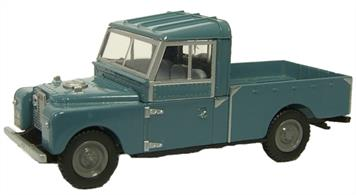 "Oxford Diecast 1/76 Blue Open Land Rover Series 1 109"" Model 76LAN1109002"