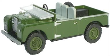 "Oxford Diecast 1/76 Churchill Bronze Green Land Rover Series 1 88"" Model 76LAN188003"