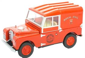 "Oxford Diecast 1/76 Royal Mail Land Rover Series 1 88"" hardtop Model 76LAN188004"