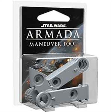 The massive capital starships of Star Wars™: Armada feature designs that balance their scale and complexity with ease of use, and the Armada maneuver tool is at the heart of this design. The Star Wars™: Armada Maneuver Tool accessory pack provides you an easy way to add a second maneuver tool to your games. Alternatively, you can use its components to build a shorter maneuver tool to accompany your full-size maneuver tool for use with slower fleets or to navigate your ships more easily through tighter spaces.This is not a complete game experience. A copy of the Star Wars: Armada Core Set is required to play.