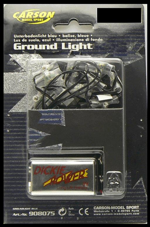 Carson C908076 Green LED Ground Underbody Set  1/10