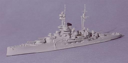 Navis Neptun 1103D HMS Revenge Battleship most famous of the five R-class Diecast Model 1/1250