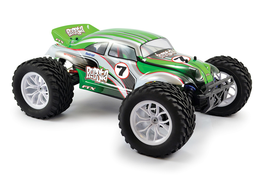 FTX Bugsta RTR Brushless Electric 4WD Buggy FTX5545<br>Classic beetle style and brawn fuse together with the FTX Bugsta, the latest heavy-duty 4wd off road vehicle from FTX. Using the same chassis platform as the hugely popular Carnage Truggy, the Bugsta captures best of buggies and trucks, with a bit of monster thrown in for good measure!