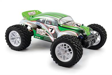 FTX Bugsta RTR Brushless Electric 4WD Buggy FTX5545Classic beetle style and brawn fuse together with the FTX Bugsta, the latest heavy-duty 4wd off road vehicle from FTX. Using the same chassis platform as the hugely popular Carnage Truggy, the Bugsta captures best of buggies and trucks, with a bit of monster thrown in for good measure!
