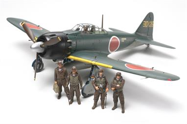 Tamiya 1/48 NA6M5/5a Japanese Zero Fighter Aircraft Model 61103Glue and paints are required
