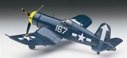 "Hasegawa 00140 1/72 Scale US F4U-1D Corsair WW2Decal Options: ""Checker Board"" VMF-312 US Marine VF-84 US Navy34 pieces Length: 5.5 in (140 mm) Width: 6.8 in (173 mm)"