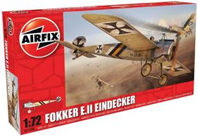 Airfix 1/72 Fokker EII Eindecker World War 1 Fighter Kit A01086Glue and paints are required