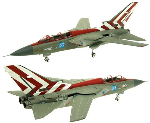 Aviation AV7251001 Panavia Tornado F3 ZE907 65 Sqn RAF Coningsby 1990 Display Aircraft 1/72