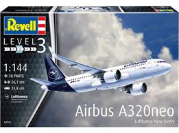 Revell 03942 1/144th Airbus A320neo Lufthansa New Livery Airliner Kit