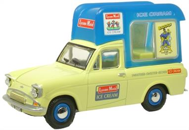 Oxford Diecast 1/43 Ford Anglia Van Lyons Maid Ice Cream High Top ANG033Ford Anglia Van Lyons Maid Ice Cream High Top