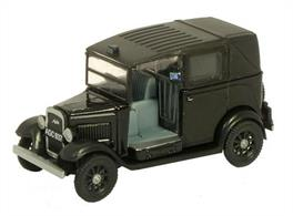 Oxford Diecast 1/76 Black Austin Taxi 76AT001