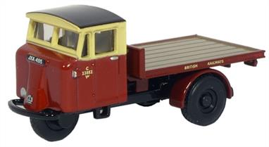Oxford Diecast 1/76 British Rail Mechanical Horse Rigid Flatbed 76MH006