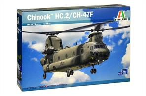 Italeri 2779 1/48th Chinook HC.2 / CH-47F Helicopter Kit