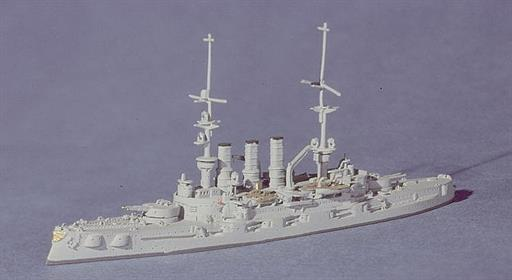 Navis Neptun 10N SMS Deutschland one of the pre-Dreadnought Battleships at Jutland 1/1250
