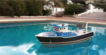 Artesania Latina ATLANTIS Fishing Trawler suitable for RC 30531A new concept in the world of modelling. Combining a simple assembly system and high quality materials, this fishing boat is suitable for both beginers and experienced modellers who want to take one further step and jump into the world of radio-control. This boat is developed both to be a static model as well as to be navigable via a radio system sold separately.Part of Artesania latina's NEW WEEKEND KIT COLLECTION: building´s never been more fun!