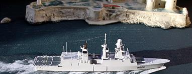 Another model for connoisseurs of modern warships.