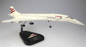 Big , Beautiful and Sleek hand carved mahogany model of Concorde G-BOAA. There is no better model of Concorde at this price! Generally available to order. There may be a wait but it will be worth it.Landing & Take off model of Concorde in British Airways Chatham Dockyard tail livery adopted by BA from 1999